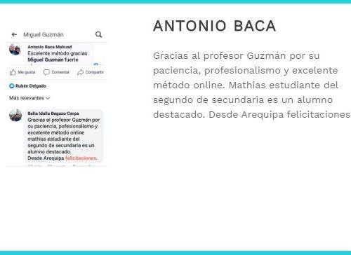 testi Antoni Baca