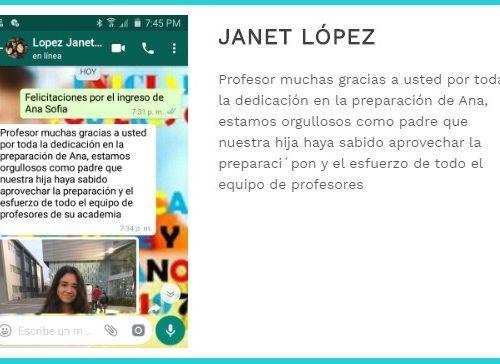 testi Janet lopez